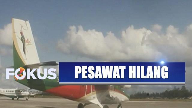 Pesawat Twin Otter pengangkut 1,7 ton beras Bulog ke Puncak, Papua, dinyatakan hilang kontak.