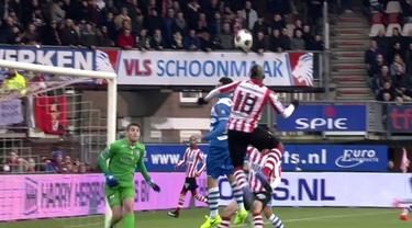 Mathias Pogba berhasil mencetak dua gol dalam 2 menit saat Sparta Rotterdam kalah dari PEC Zwolle, Minggu (5/2/2017)