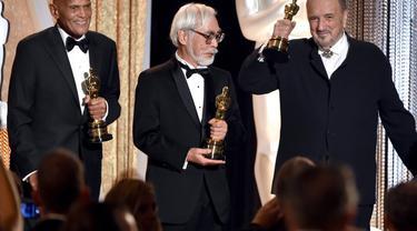 Terima Piala Kehormatan dari Academy Award, Hayao Miyazaki Senang