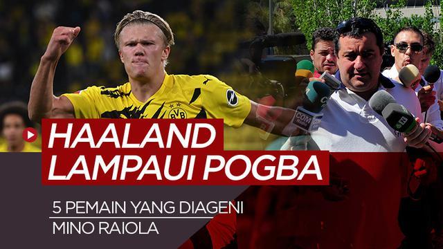 Pemain yang diageni Mino Raiola. (Bola.com/Dody Iryawan)