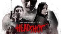 Poster film Headshot. foto: twitter