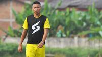 Penyerang sayap Arema FC, Dendi Santoso. (Bola.com/Iwan Setiawan)