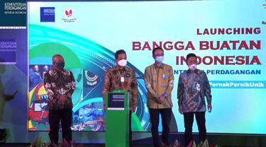 Menteri Perdagangan Agus Suparmanto dalam Launching Bangga Buatan Indonesia #Pernakpernikunik secara virtual, Rabu (16/9/2020).