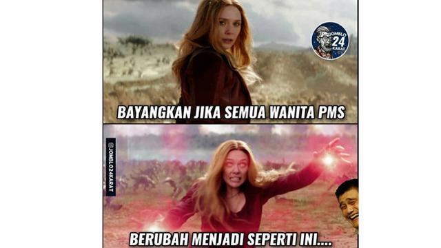Deretan Meme Wanita Saat PMS Nyeremin tapi Bikin Ketawa Geli