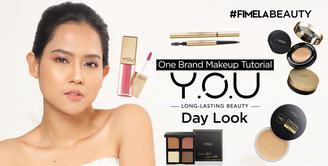 One Brand Makeup Tutorial Y.O.U | Day Look