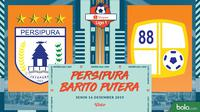 Shopee Liga 1 - Persipura Jayapura Vs Barito Putera (Bola.com/Adreanus Titus)