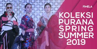 Bernuansa Romantis, Purana Pamerkan Koleksi Spring Summer 2019