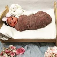 Raqeema Ruby Radinal, putri pertama Nabila Syakieb dan Reshwara Argya Radinal. (Instagram/arthayasastables)