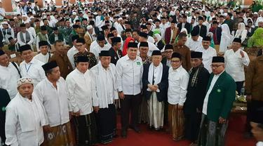 Ma'ruf Amin di Ponpes Cipasung, Tasikmalaya, Jawa Barat