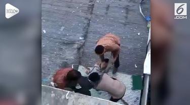 Paksi Tama Wira Satya, mahasiswa jurusan Teknik Sipil UNISKA Banjarbaru, terjatuh dari lantai 4 lantaran kelelahan dan mengantuk.