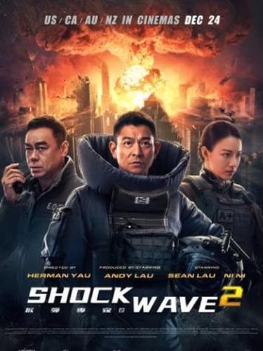 Poster film Shock Wave 2. (Foto: Universe Entertainment/ Focus Films/ IMDb)
