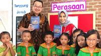 "Rhenald Kasali meluncurkan buku berjudul ""SENTRA, Inspiring School. Membangun Kecerdasan dan Kemampuan Anak Sejak Usia Dini, Demi Masa Depan yang Cemerlang di Jakarta, 13 Desember 2019. (Dok Rhenald Kasali)"