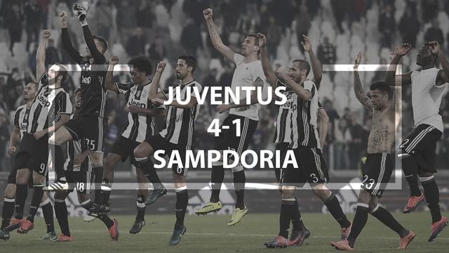 Video highlights Serie A Italia antara Juventus melawan Sampdoria yang berakhir dengan skor 4-1.