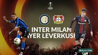 Liga Europa - Inter Milan Vs Bayer Leverkusen (Bola.com/Adreanus Titus)