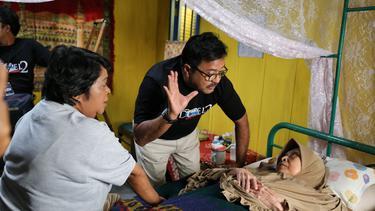 [Fimela] Aminah Cendrakasih Syuting Si Doel The Movie 2