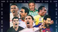 Ilustrasi La Liga (Bola.com/Adreanus Titus)