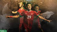 Pemain Muda di Timnas Indonesia (Bola.com/Adreanus Titus)