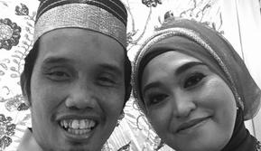 Ustaz Maulana dan Istri. (Instagram.com/m_nur_maulana)