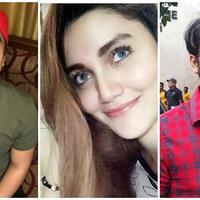 Billy Syahputra, Hilda Vitria, dan Kriss Hatta. (Instagram/bilsky16 Instagram/hvkhan_ukiss Instagram/krisshatta07)