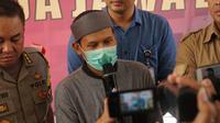 Penceramah Rahmat Baequni ditetapkan tersangka atas dugaan kasus ceramahnya yang bermuatan hoaks oleh Direskrimsus Polda Jawa Barat. (Liputan6.comHuyogo Simbolon)