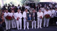 Prosesi pemakaman pendiri Grup Sinar Mas Eka Tjipta, Sabtu (2/2/2019). (Istimewa)