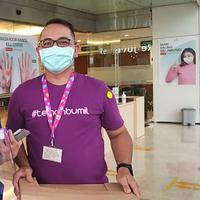 Donasikan 1000 Face Shield, Teman Bumil Bantu Lindungi Bayi dari Penularan COVID-19
