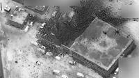 Pentagon rilis foto udara pascaserangan di Suriah (US Department of Defense)