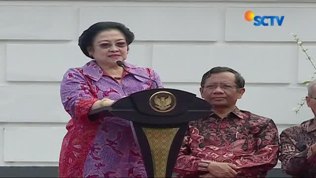 Megawati sempat berbicara soal tudingan yang menyebut Jokowi bertindak seperti diktator.