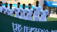 Timnas Arab Saudi U-23 di Asian Games 2018. (Bola.com/Dok. INASGOC)