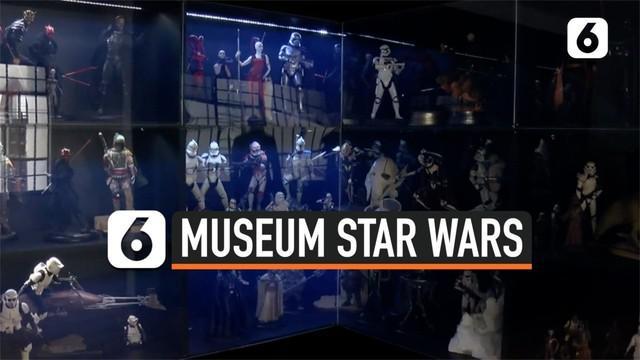 Museo Estelar atau museum Star Wars hadir di Meksiko. Museum ini menampilkan lebih dari 4000 item Star Wars. Disebut-sebut, museum ini jadi yang terbesar di Amerika Latin.