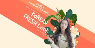 Makeup Tutorial Korean Fresh Look