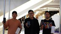 Oppo mengajak 3 seniman Indonesia, seperti Darbotz, Arkiv Vilmansa, dan Ronald Apriyan untuk menampilkan karya-karya kreatif yang dipadu oleh teknologi.