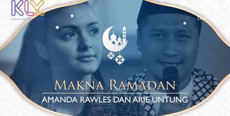 Begini makna Ramadan menurut Amanda Rawless dan Arie Untung