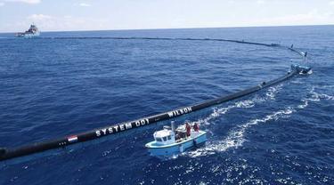 Pembersih Laut Terbesar di Dunia Ini Diklaim Mampu Angkat 90% Sampah, Keren
