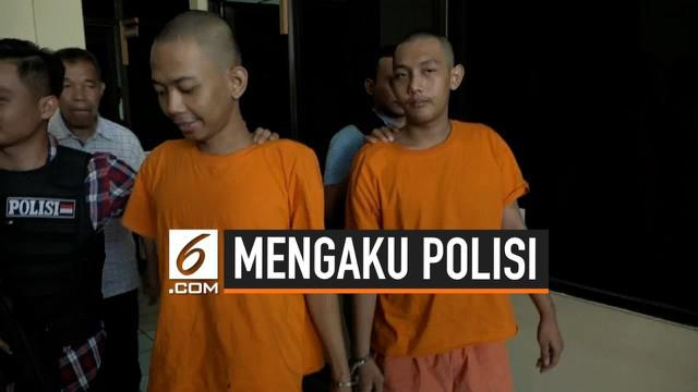 Dua orang remaja ditangkap karena memeras korbannya dengan menggunakan senjata airsoftgun. Mereka juga mengaku sebagai polisi dan akan membawa korban ke kantor.