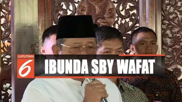 Meskipun belum genap 3 bulan kehilangan sang istri, SBY menyatakan telah mengikhlaskan kepergian sang ibunda.
