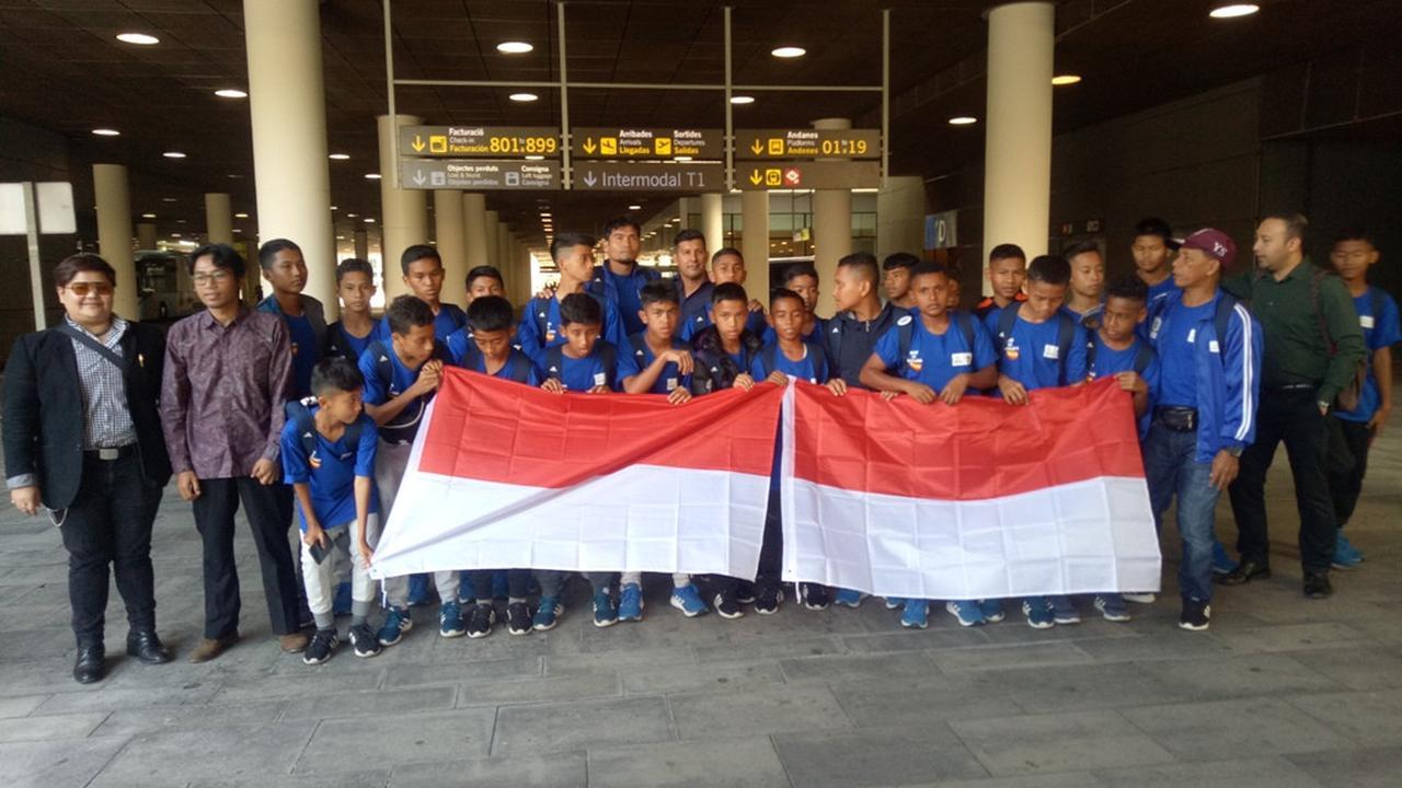 Danone Nations Cup: Perwakilan KBRI Sambut 2 Tim Indonesia