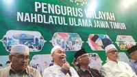 Pengurus wilayah Nahdlatul Ulama Jawa Timur (Foto: Liputan6.com/Dian Kurniawan)