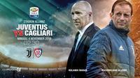 Juventus vs Cagliari (Liputan6.com/Abdillah)