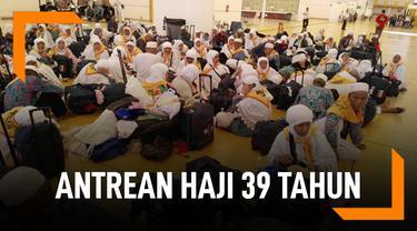 Daerah Antrean Haji Terlama Di Indonesia, Hingga 39 Tahun