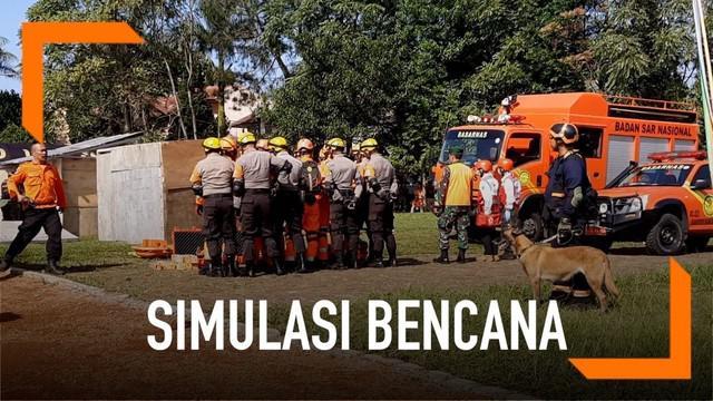 Peringatan Hari Kesiapsiagaan Bencana digelar di Lapangan Sesko AU, Lembang. Rangkaian acara terdiri dari simulasi bencana hingga pemaparan tentang potensi bahaya Sesar Lembang.