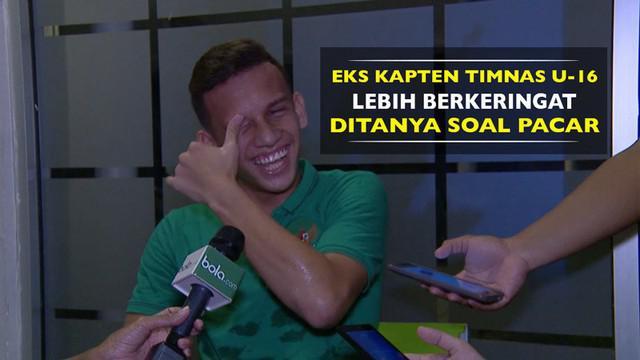 Berita video momen salah tingkah (salting) eks kapten Timnas U-16 yang kini ikut seleksi Timnas U-19, Egy Maulana Vikri.