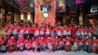 Atlet Wushu DKI Jakarta yang berlaga di PON XX Papua
