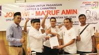 Deklarasi dukungan ke Jokowi-Ma'ruf oleh DPD PAN Tanah Bumbu (Istiwewa)