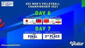 Link Live Streaming Asian Men's Volleyball Championship 2021 di Vidio, Babak Final Malam Ini