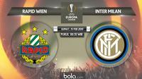 Liga Europa: Rapid Wien Vs Inter Milan (Bola.com/Adreanus Titus)