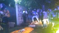 Pelajar tewas terkena sabetan celurut di Bogor, Jawa Barat. (Liputan6.com/Achmad Sudarno)