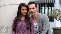 Atalarik Syach dan Tsania Marwa [Foto: Herman Zakharia/Liputan6.com]