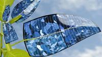 Ilustrasi: daun bionik yang dapat mengubah sinar matahari jadi bahan bakar cair (sumber: newsnation.com)