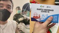 Jadi Salah Satu Penerima Vaksin Pertama, Dokter Tirta Langsung Kembali Bertugas. (Sumber: Instagram/dr.tirta)